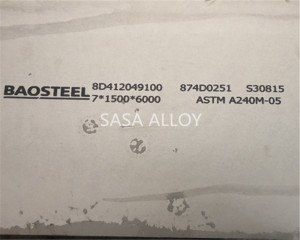 254 SMO Sheet Plate